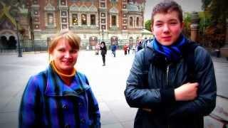 Интервью с россиянами в  день учителя на тему: