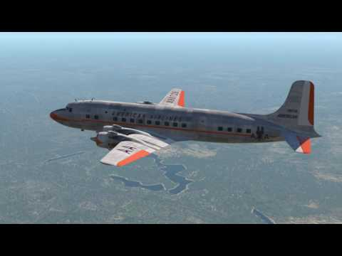 X-Plane 11 Florida to Grand Cayman Island Airport