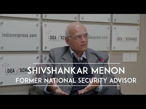 Shivshankar Menon On 26/11 &  Pathankhot Attacks & India's Foreign Policy Goals