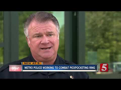 Metro Nashville Police Working To Combat Pickpocketing Ring