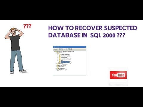 How To Repair A Suspect Database In MS SQL