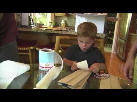 WOW!! 7-year-old starts business to help cure cancer