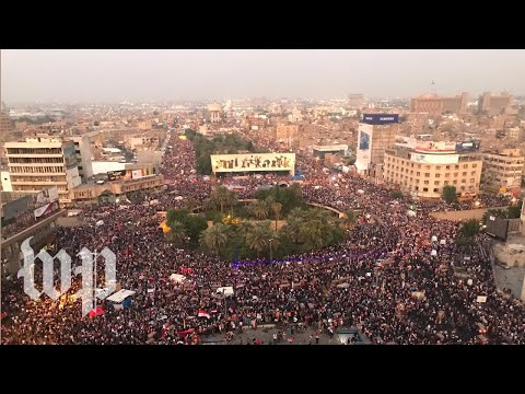 How the protests in Baghdad have transformed Tahrir Square