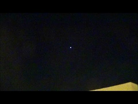 Iridium Flare - Satellite Solar Panels Reflection - in Kuwait ( ZERO )