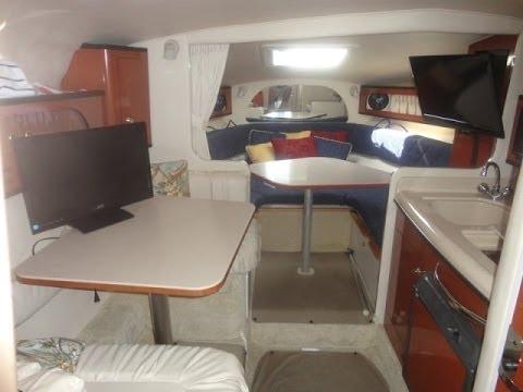 Sea Ray 280 Sundancer Cabin Tour By South Mountain Yachts