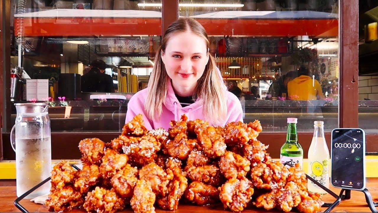 5 lb Korean Fried Chicken Challenge