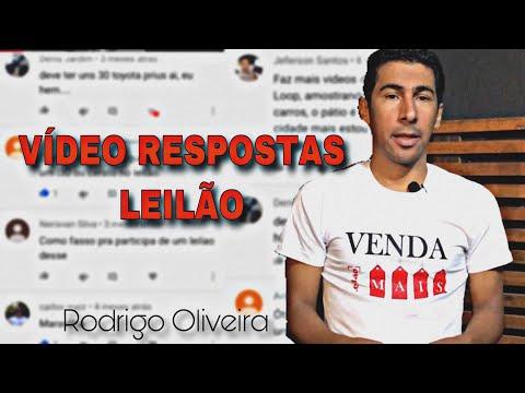 VÍDEO RESPOSTAS LEILÃO - RODRIGO OIRA
