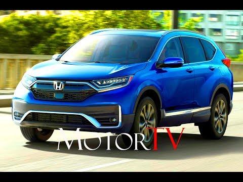 2020 HONDA CR-V Hybrid Introduced for the United States l Key Facts & Design