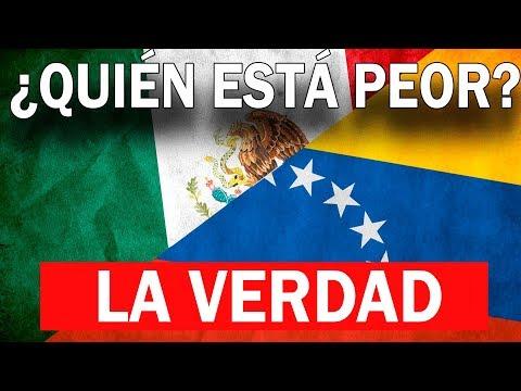 ¿Está México peor que Venezuela?