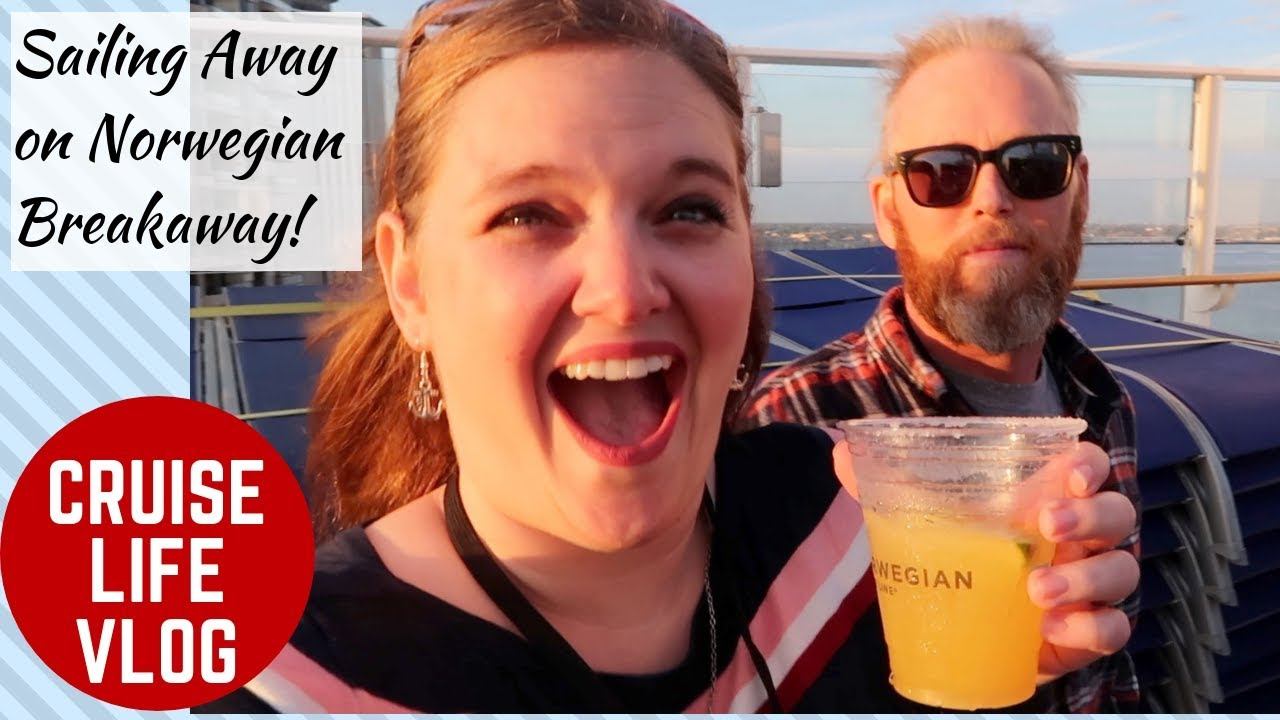 Sailing Away on the Norwegian Breakaway & Our First Balcony Cabin Ever!