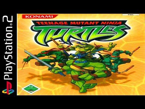 Teenage Mutant Ninja Turtles 100% - Full Game Walkthrough / Longplay (PS2)