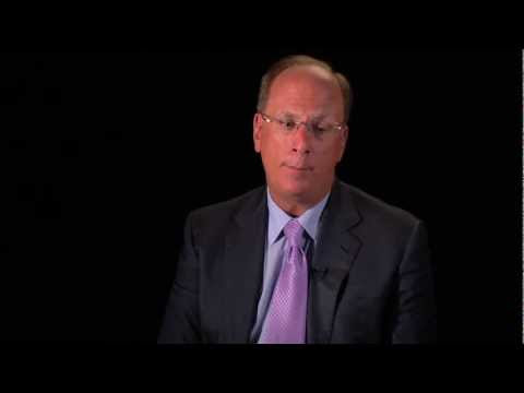 Leading in the 21st century: Larry Fink on personal leadership