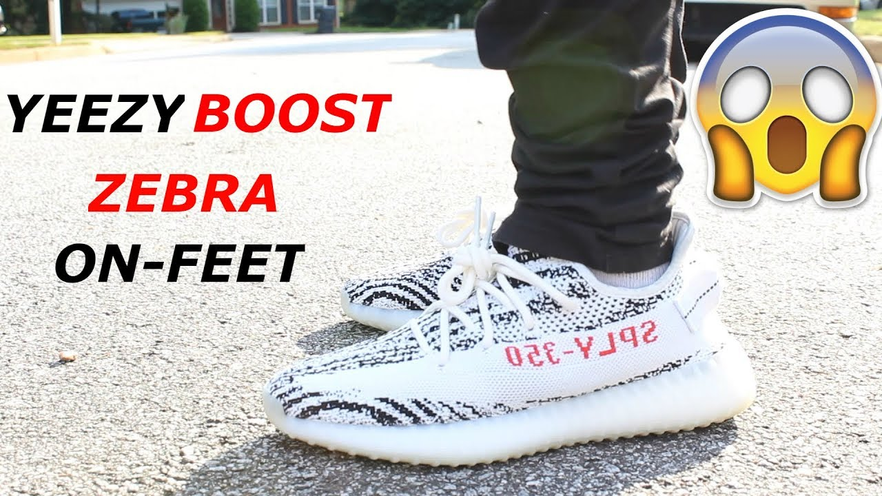c3df1ec50041f ... coupon code for adidas yeezy boost 350 v2 zebra review on feet real vs  fake ee528
