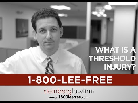 What is Michigan's Threshold Injury Law for Accident Claims