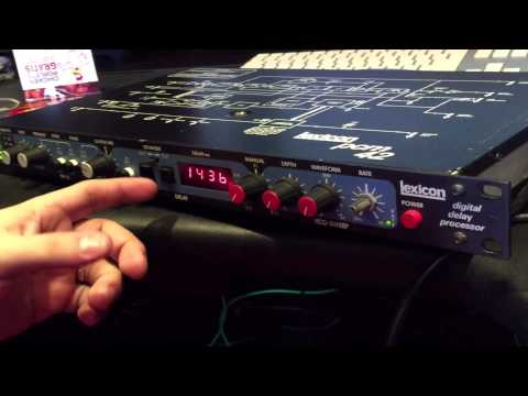 Lexicon PCM 42 Classic Delay Overview by Little Fish Audio