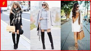 How to Wear a Sweater Dress Like a Style Star