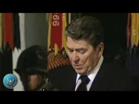 President Reagan's Remarks at a Service in Fort Campbell, Kentucky