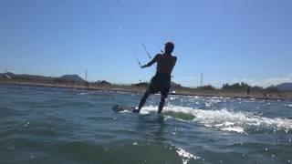 kitekurs Mallorca kite spot Portblue Club erste wasserstart 6 stunde kiten unterricht