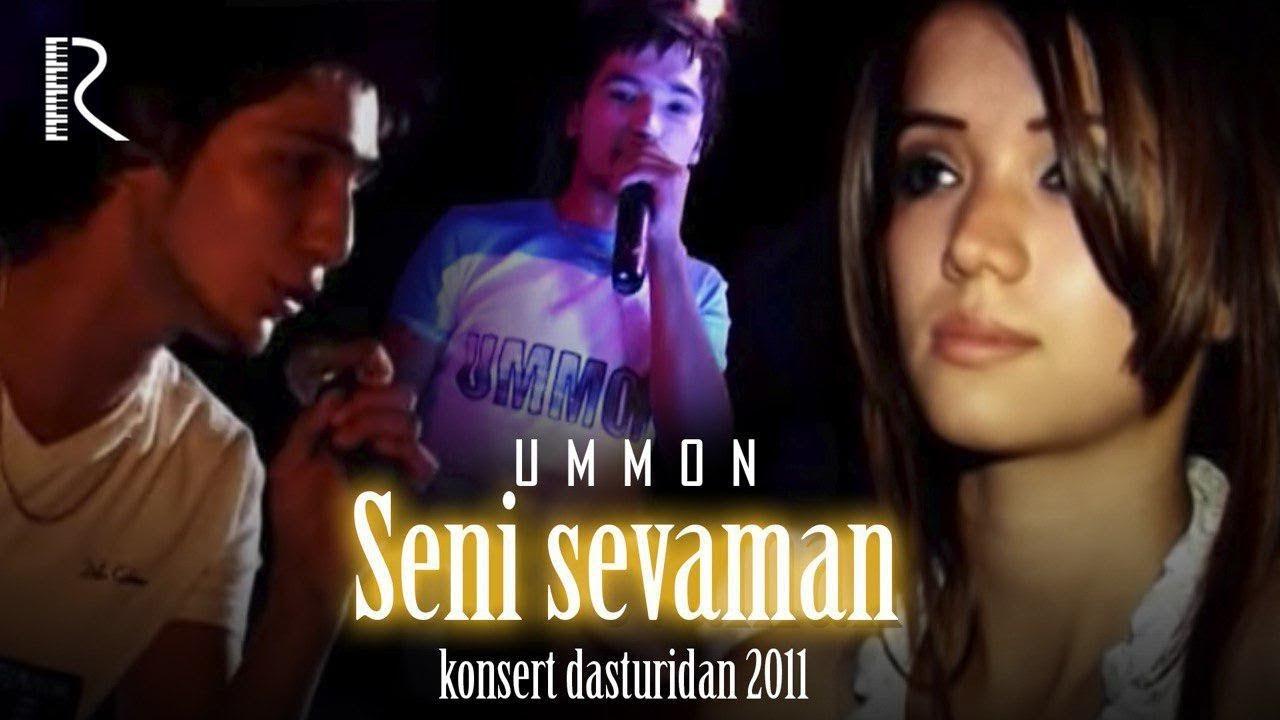 Ummon guruhi - Seni sevaman konsert dasturidan 2011