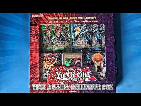 Yugi Kaiba Collector Box Openingunboxing Yugioh Karten