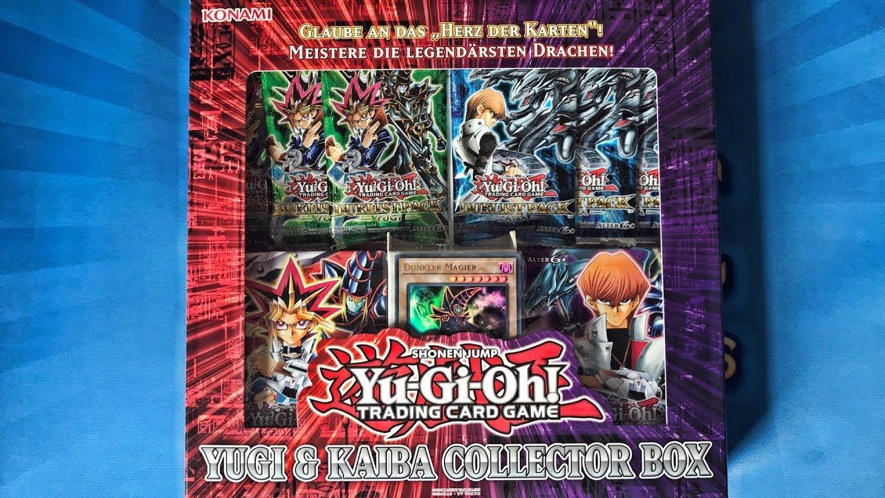 Yugi & Kaiba Collector Box Opening/Unboxing Yugioh Karten - YouTube