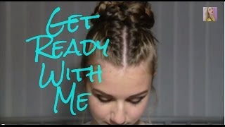 Get Ready with Me - Hair and Make-up | Stella Cini Thumbnail