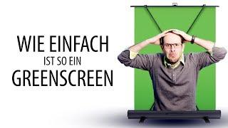 Wie einfach ist ein Greenscreen?
