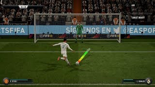 Real Madrid Penalty Shootout (FIFA 18 New Penalties)