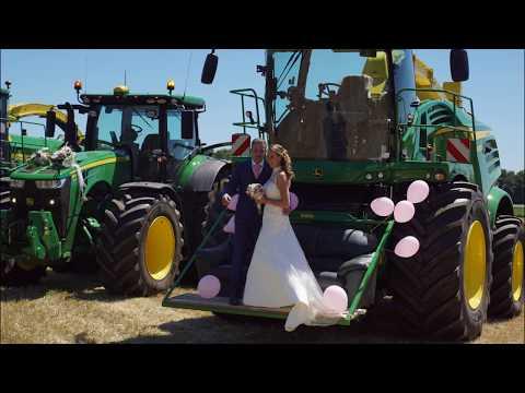 John Deere parade van loonbedrijf Vroege bij bruiloft Trekkerweb