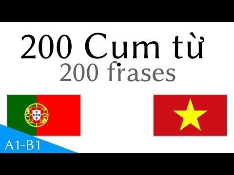 200 Cụm từ  - Tiếng Bồ Đào Nha - Tiếng Việt