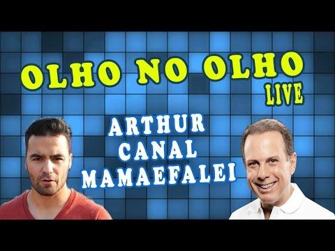 Olho no Olho Live - João Doria entrevista Arthur do Val do canal MamãeFalei