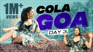 Sreemukhi GOA Trip Vlog | Day 3 | Cola Goa Beach Resort | Latest Videos | Sreemukhi