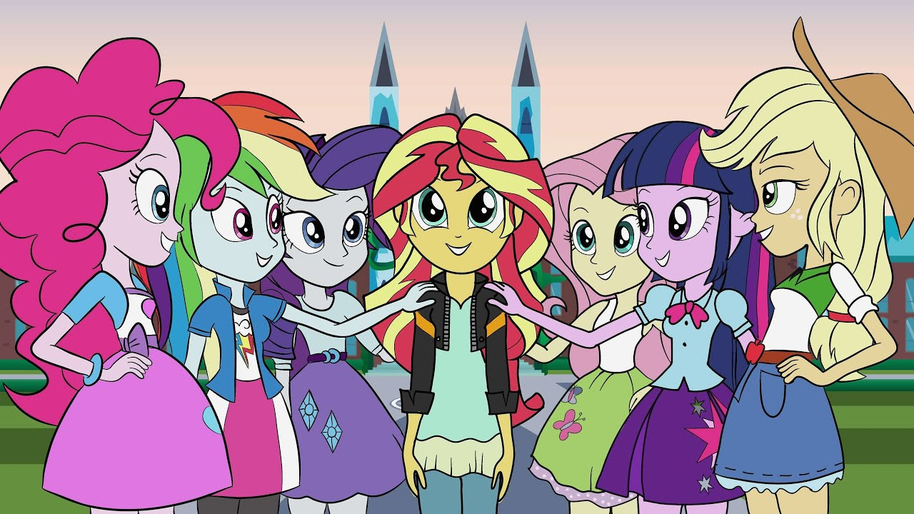 my little pony equestria girls - HD3840×2160