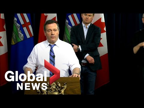 Coronavirus outbreak: Alberta introduces penalties to curb COVID-19 spread | FULL