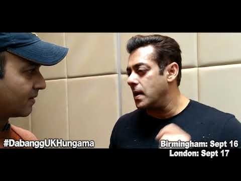 Salman Khan's EXCLUSIVE interview on Dabangg Tour UK in London