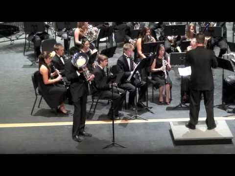 Poway High School Wind Symphony - Czardas featuring Sari Rizek on euphonium