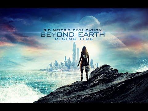 Геймплейный ролик Civilization: Beyond Earth из DLC Rising Tide |