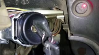 видео Ключ зажигания не поворачивается. Ключ не поворачивается в замке зажигания: ремонт, замена, советы