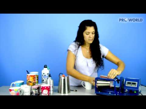 How to use the TransPro 3-in-1 Mug Press