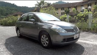 2008 Nissan Latio 1.8 Ti 4dr Start-Up, Full Vehicle Tour, and Quick Drive