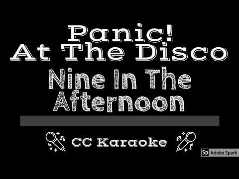 Panic At The Disco   Nine In the Afternoon CC Karaoke Instrumental