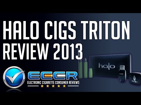 In-Depth Halo Triton E-Cigarette Review - Unbiased Electronic Cigarette Consumer Reviews