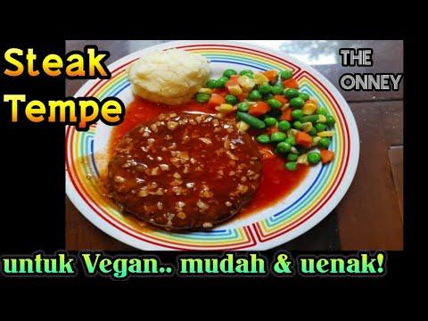 Steak Tempe untuk Vegetarian Enak & Mudah!! - YouTube