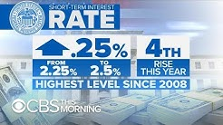 How do increased interest rates impact you?