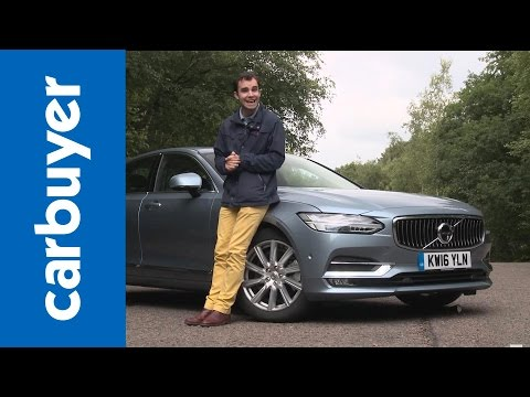 Volvo S90 saloon 2016 review – Carbuyer from YouTube · Duration:  8 minutes