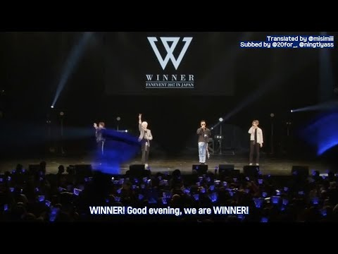 [ENG SUB] WINNER Fanevent 2017 @ Nakano Sunplaza