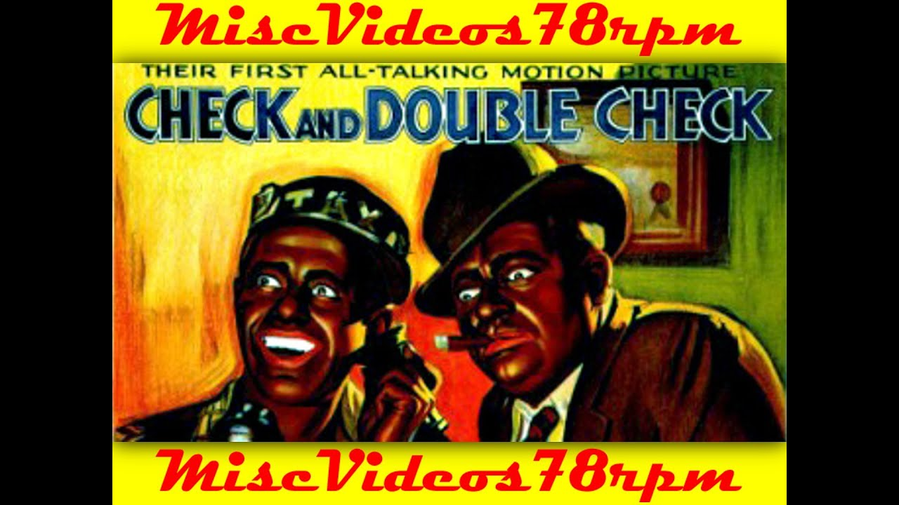 Check and Double Check (1930) - YouTube