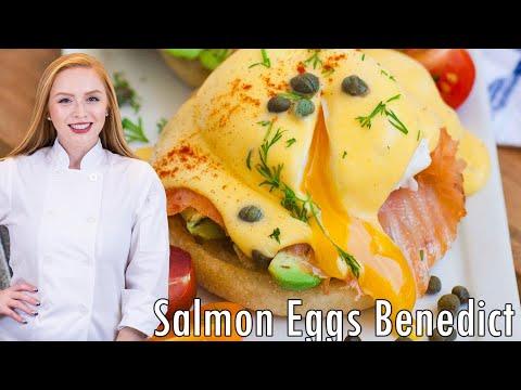 Make Smoked Salmon Eggs Benedict Pictures