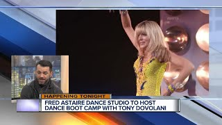 Dancing With the Stars Pro Tony Dovolani hosts Dancing Boot Camp tonight