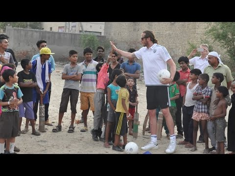 West Bromwich Albion's Jonas Olsson makes Foundation trip to India